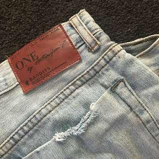 One Teaspoon Bandit Shorts   Size 26 (10 NZ)