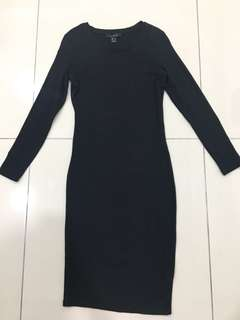 Mermaid long sleeve dress