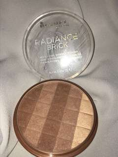 RIMMEL LONDON RADIANCE BRICK BRONZER