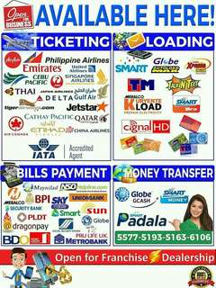 Topdeals (Bills payment, Ticketing,Loading and Money transfer)
