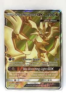 Pokémon Sun & Moon Forbidden Light- Ultra Necrozma GX (Ultra Rare)