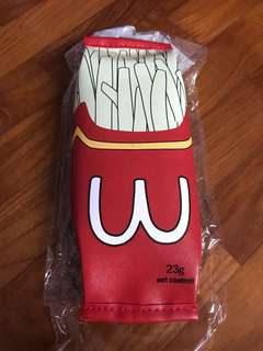 [BNIB] French fries pencil case