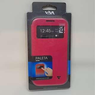 Case Merah Samsung Galaxy S4 VIVA