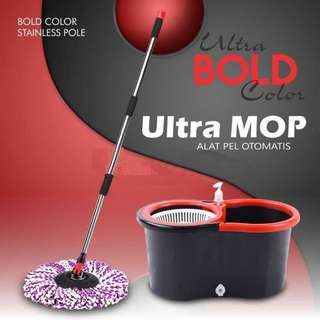 ULTRAMOP Super mop Alat Pel Lantai Ekonomis by Bolde Harga Murah