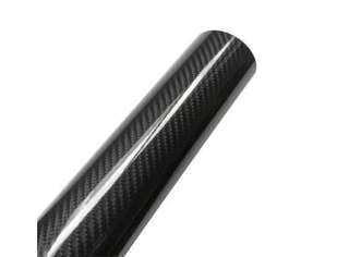 5D 1.51M x 50CM Gloss Black Carbon Fibre Vinyl