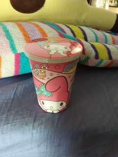 Melody cup with cover