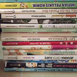 Preloved Comics