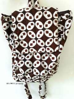 Mini backpack batik