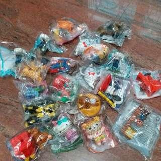 麥當勞玩具20個