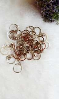 Ring Gantungan Kunci Bulat (2.5 cm)
