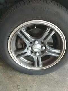 Nice rim & tyres