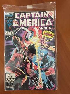 Captain America #8 (1986)-25th Marvel Anniversary