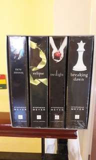 Complete series of TWILIGHT SAGA