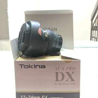 TOKINA 12-24MM F4 Pro DX Lens (For NIKON)