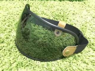 Custom handmade visor for blitwell gringo and amz excelsor