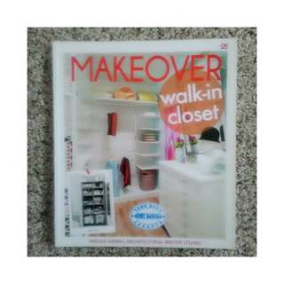 Buku Desain & Arsitektur Makeover - Walk-in Closet