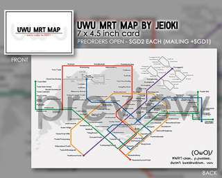 UWU MRT Map