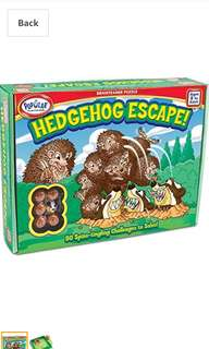 POPULAR PLAYTHINGS - Hedgehog Escape