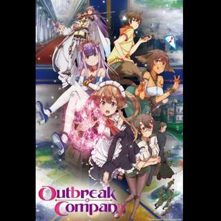 [Rent-TV-Series] Outbreak Company (2013) [ANIME]