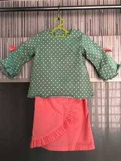 Baju Kurung Peplum