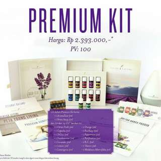 Young Living Premium Kit (FREE 1 bottle Lavender Oil 5 ml selama Mei)