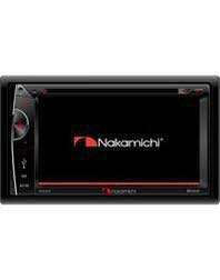 Nakamichi DVD player with reverse camera