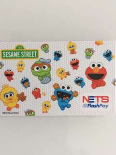 Limited Edition brand new Sesame Street design nets Flash Pay Card For $13.90.