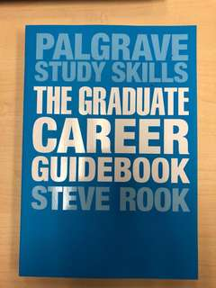 Palgrave Study Skills: The Graduate Career Guidebook by Steve Rook