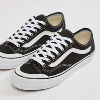 Vans 黑白Style 36