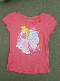 🚚 女童短袖上衣(5y-6y)3件