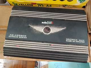 AQ Car Amplifier 4 Channel