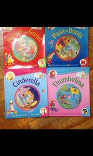 Story books with Vcd