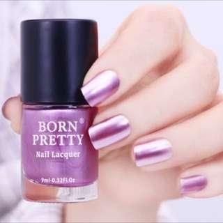 Purple Metallic nail polish 9 ml