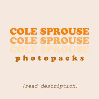 COLE SPROUSE PHOTOPACKS