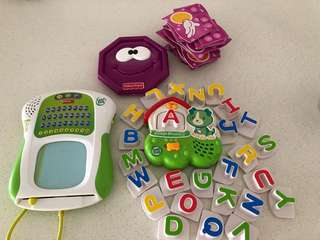 Leap Frog & Fisher price toy