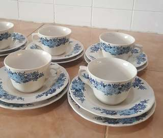 vintage oriental ceramics tea set