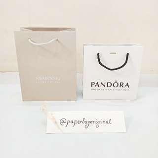 Pandora Swarovski Paperbag Original paper bag Authentic