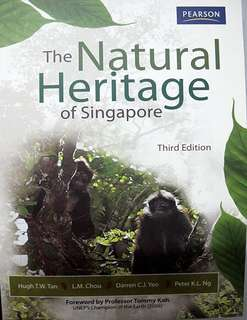 SSS1207/GES1021  The Natural Heritage Of Singapore