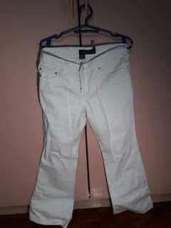 NEXT JEANS white elephant pants