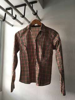 Checkered Long Sleeve for Women