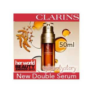 NEW Clarins Double Serum 50ml