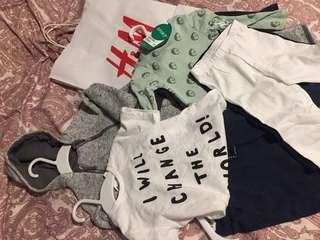 Letting go 6mnths old baby clothes #letgo4raya #letgo4raya