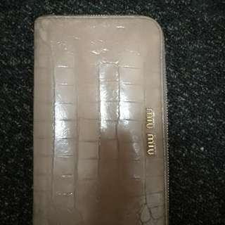 Miu miu long wallet/ purse