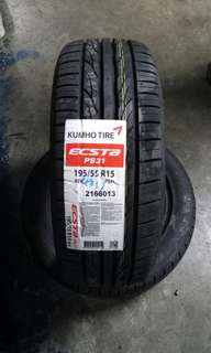 Tyres super promotion Kumho Dunlop tires lowest possible price. Great Singapore tyre sale. New arrival at cheapest price