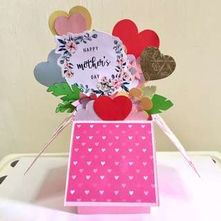 Happy Mother's Day POP UP BOX CARD