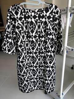 Korean Style Office Dress Size XL