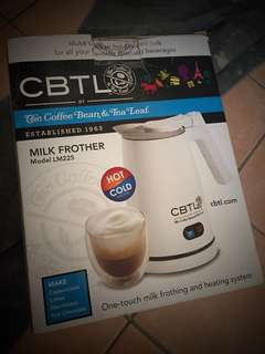 Coffee Bean & Teal Leaf Milk Frother