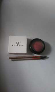 Mac blush & eb eyebrowkit bundle (athuthentic)
