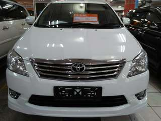 Kijang Innova G LUxury 2.0 Tahun 2012 AT cc 2.0 matic