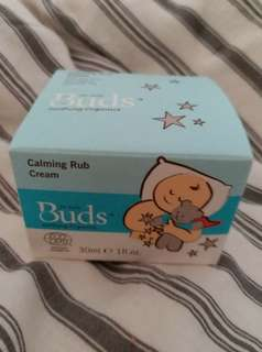 Buds Soothing Organics: Calming Rub Cream